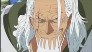Op (one Piece) Kizaru срещу Rayleigh