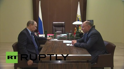 Russia: Putin discusses environmental investments in the mining and smelting industries