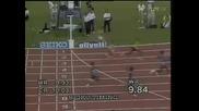 *hq* Ben Johnson - Световен рекорд 9.84 Rome 1987