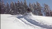 Снежно забавление с Атв