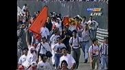 Jean Alesi Victory Celebration 1995 Canadian Gp