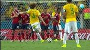 Бразилия победи с 2-1 Колумбия