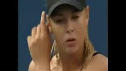 Sharapova Us Open 2006