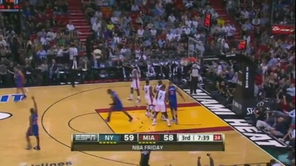 New York Knicks @ Miami Heat 89 - 99 [27.01.2012]