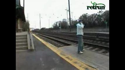 Влак Блъска Човек С 300 Km/h