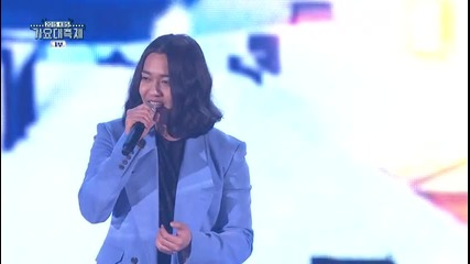151230 Infinite Woohyun, Shinee Key & Noel Kyungsung Special Stage @ Kbs Gayo Daechukje