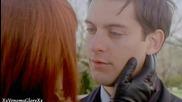 Любимата двойка герои Питър Паркър и Мери Джейн Уотсън от Спайдър - Мен Трилогия (2002-2004-2007)