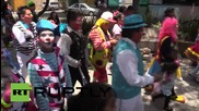 Mexico: Clowns flock to Mexico City for Catholic pilgrimage