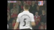 16.09.09 С К А Н Д А Л Е Н гол на Едуардо срещу Стандард Лиеж и победа с 2:3 за Арсенал