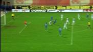 Антонио Аниете вкара за 4:0 срещу Локомотив Пд