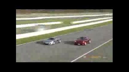 Porsche Carrera GT Vs Ferrari 599 GTB Fiorano