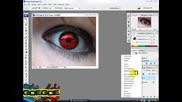 Как да сменим цвета на око - Photoshop
