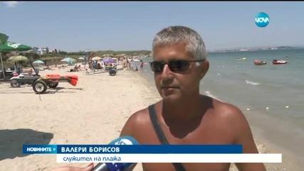 Касов бон за чадър на плажа - Цеца Алексова
