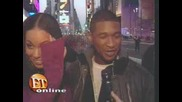 Alicia Keys With Usher Together On E