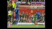 2ри гол на Ники Желавич с бг коментар !! Юнайтед 4:4 Евъртън