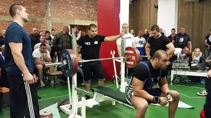 Ico Muskov - 220kg lejanka