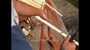 монтаж на сенници за тераси Тента