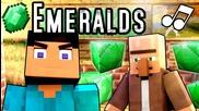 ♪ _Emeralds_ - A Minecraft Parody Music Video