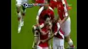 Арсенал 2:0 Ман У Голът На Насри