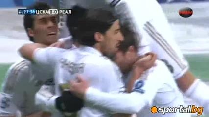 Цска (м) - Реал Мадрид 1:1 ( Champions League 1/8 финал )