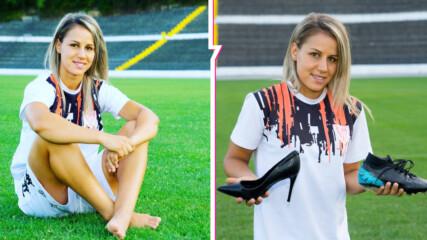 Красива и една от най-добрите в женския футбол: Запознайте се със Симона Петкова