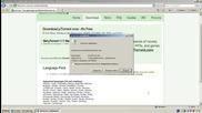 1.1 Загрузка utorren и языкового пакета с официального сайта