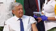 Mexico: President Lopez Obrador receives AstraZeneca vaccine