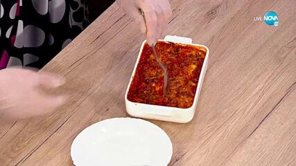 """Рецептите днес: Рулца от тиквички със сирена и доматен сос - """"На кафе (21.06.2021)"""