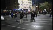 Протест на служители на МВР на Орлов мост 4.11.2015