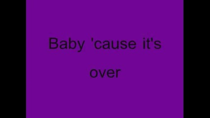 Jesse Mccartney - Its Over (with Lyrics)
