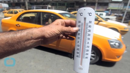Think You're Hot? It Feels Like 159 Degrees in Baghdad