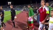 България Дания 1-1 Световна Квалификация за Световното първенство по футбол 2014 в Бразилия