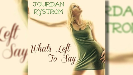 !превод! Jourdan Rystrom - What's Left to Say( from Bold and the Beautiful)