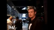 Nick Carter Chatting With Tmz [12 - 08 - 2008]