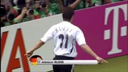 Miroslav Klose - Всичките 16 гола на Световни Първенства