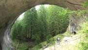 Родопи- есенен поход- Караджов камък, Чудните мостове, Забърдо