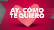 New! 2015   Cristian Deluxe - Cómo Te Quiero ( Lyric Video )