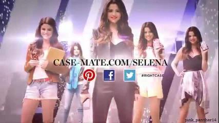 New..! Селена Гомез в реклама за телефонни панели Case-mate