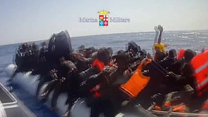 International Waters: Italian coastguard picks up 238 refugees in the Med