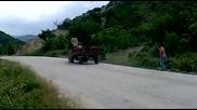 Трактор кара с предница