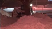 Зимна буря в Индиана 5.2.2014
