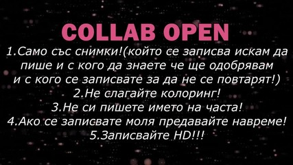 Collab open / Turn up the love / Close