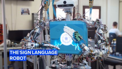 Meet the robot that will be fluent in sign language
