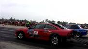 Opel Calibra Turbo 1400 Hp Vs. Bmw E30 M3 Turbo