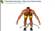 Бодибилдинг упражнения - Разтваряне за задно рамо