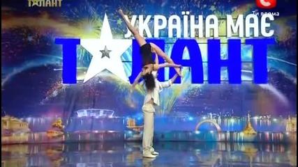 Украина имеет талант - 5. Выпуск 2. Duo Flame
