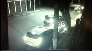 Крадци решили да ограбят кола, но се оказа че шофьора е полицай