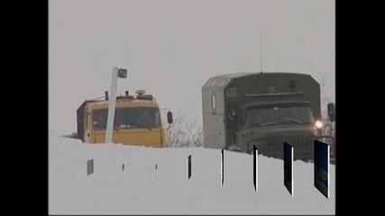 Студената вълна, връхлетяла Русия, е взела вече 123 жертви