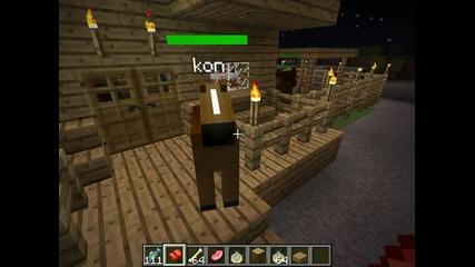 Minecraft-как да си опитомим кон