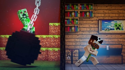 Wrecking Mob_ - A Minecraft Parody of Miley Cyrus' Wrecking Ball